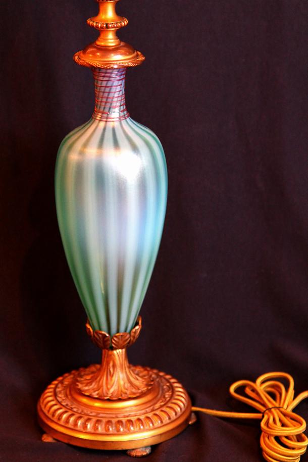 Steuben Oriental Jade Lamp