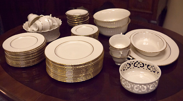 Lenox Dinnerware in Citation Gold