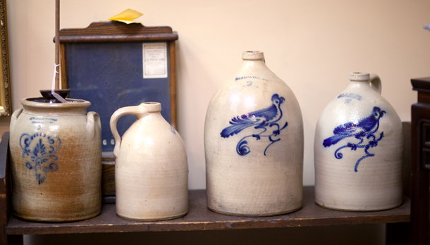 Stoneware Crocks and Jugs